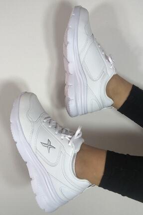 Kinetix Kadın Günlük Spor Beyaz Kadın Yürüyüş Ayakkabısı Suomy 3