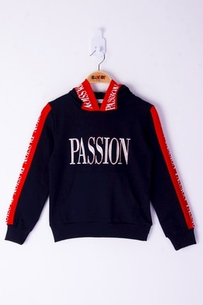 Kız Çocuk Passion Baskılı Sweatshirt 16471-