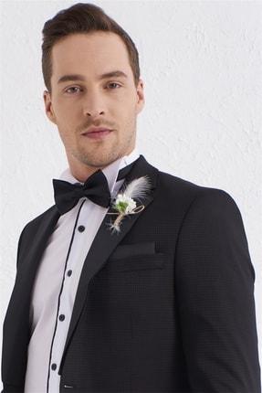 تصویر از 055 Slim Fit Siyah Black Takım Elbise
