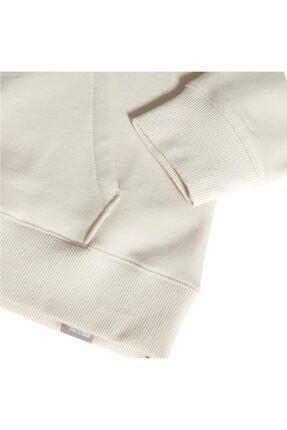 The North Face Drew Peak Pullover Hoodie Kapüşonlu Kadın Sweatshirt Beyaz 3