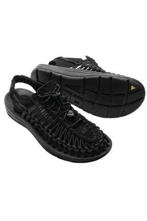 Keen Uneek Erkek Sandalet Siyah 3
