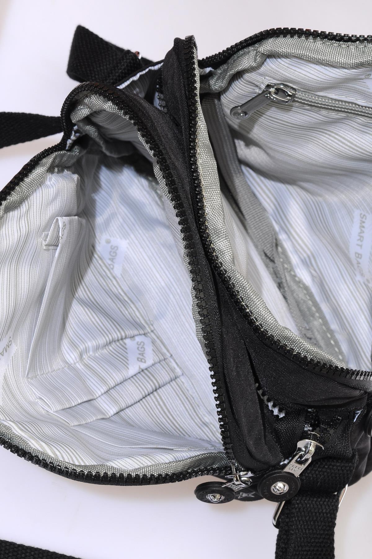Smart Bags Smb3058-0001 Siyah Kadın Çapraz Çanta