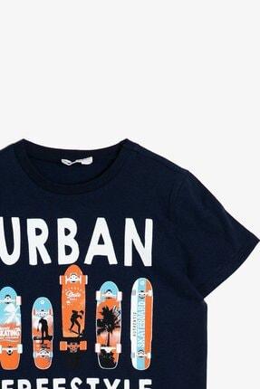 Koton Erkek Çocuk Koton Yazılı Baskılı T-shirt 0ykb16045ok 2