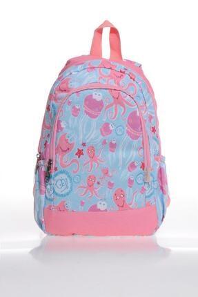 KIDS&LOVE V6009 Sea Anımals Kız Çocuk Anaokulu Sırt Çantası 0