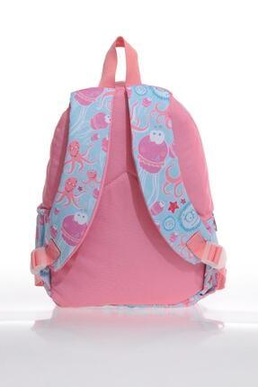 KIDS&LOVE V6009 Sea Anımals Kız Çocuk Anaokulu Sırt Çantası 2