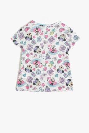 Koton Kız Çocuk Minnie By Gri T-shirt 1