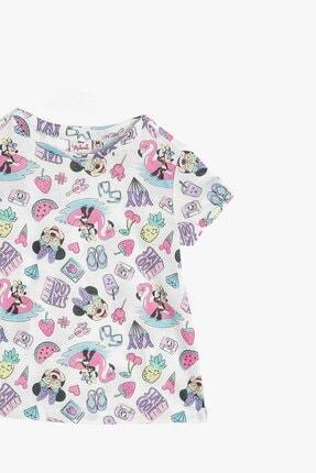 Koton Kız Çocuk Minnie By Gri T-shirt 2