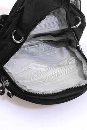 Smart Bags Smb3063-0001 Siyah Kadın Sırt Çantası 4
