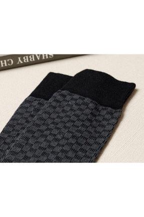 English Home Matris Pamuk Erkek Çorap Siyah 1