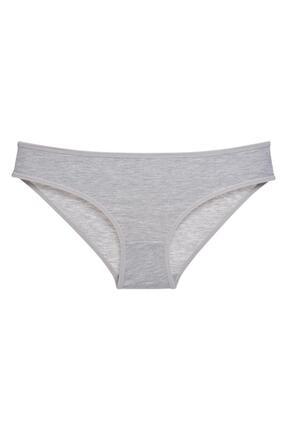 LadyMelex Kadın Siyah - Beyaz - Ten - Gri 7'li Paket Bikini Külot 1
