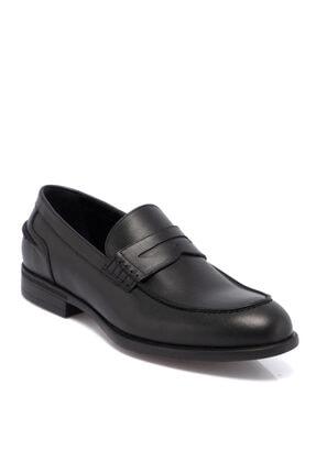 Tergan Siyah Deri Erkek Ayakkabı 55072a43 0