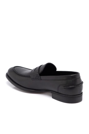 Tergan Siyah Deri Erkek Ayakkabı 55072a43 1