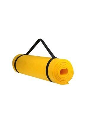 Walke 7 Mm Kalınlık Pilates Matı Yoga Matı Kamp Matı Sarı Boy 150 Cm En 51 Cm 1
