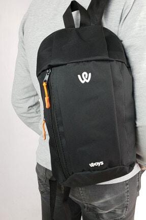 woys Unisex Siyah Kamp Bisiklet Yürüyüş Mini Sırt Çantası 1