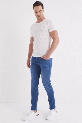 Efor 059 Slim Fit Mavi Jean Pantolon 1