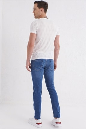 Efor 059 Slim Fit Mavi Jean Pantolon 3