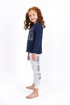 US Polo Assn Lisanslı Kız Çocuk Tayt Takım 1