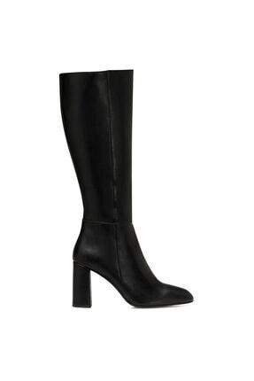 Nine West MARIMBU Siyah Kadın Ökçeli Çizme 100582015 0
