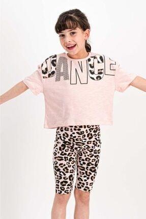 Rolypoly Dance Somon Kız Çocuk Tayt Takım Rp1807-c 1