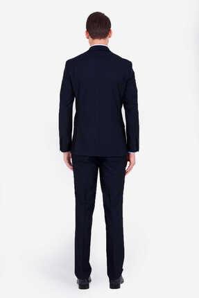 Hatemoğlu Lacivert Slim Fit Takım Elbise 2