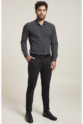 Efor P 1071 Slim Fit Siyah Spor Pantolon 0