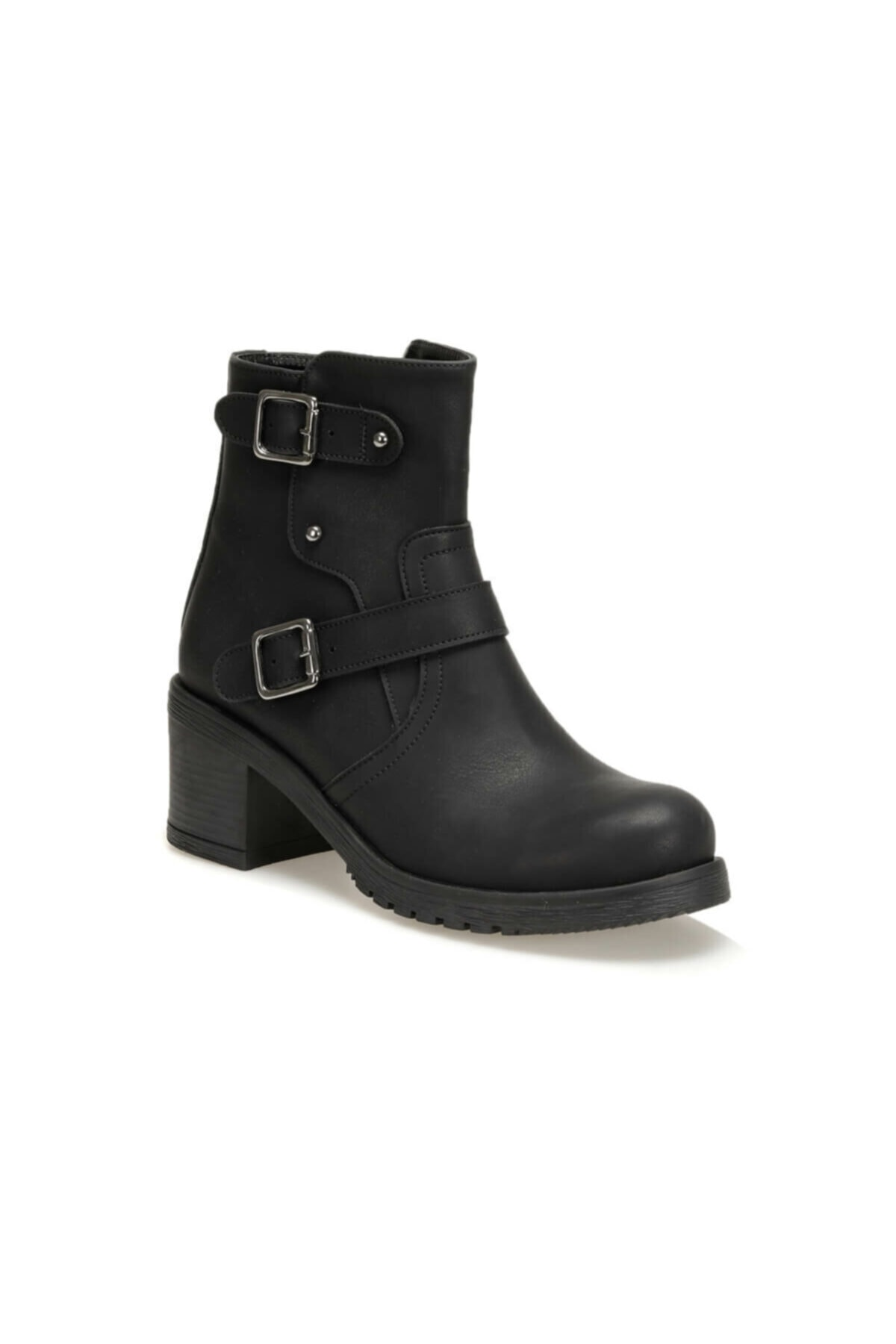 CW19032 Siyah Kadın Topuklu Ayakkabı 100440352