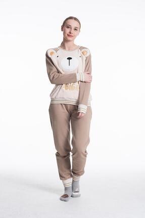 Feyza 3552 Bayan Simli Pijama Takımı 0