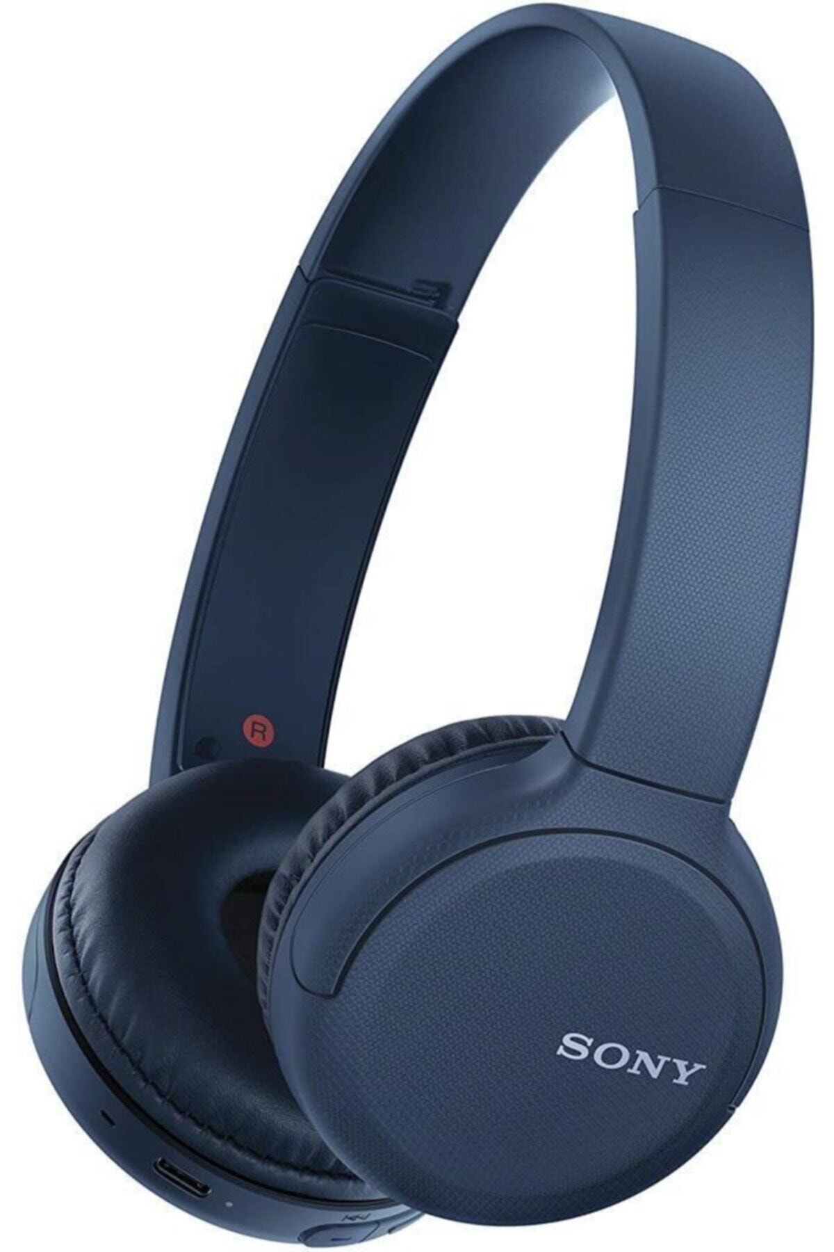 WH-CH510 Kulaküstü Bluetooth Kulaklık - Mavi