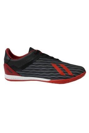 Jump 25849 Siyah-kırmızı Halı Saha Erkek Futbol Ayakkabı 1