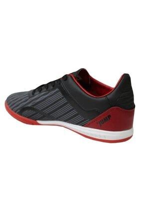 Jump 25849 Siyah-kırmızı Halı Saha Erkek Futbol Ayakkabı 2
