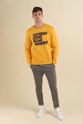 Oksit Coll City Yesterday Slim Fit Pamuklu Sweatshirt 1