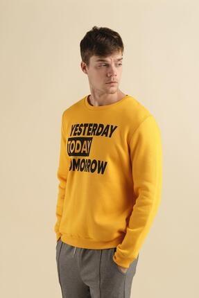 Oksit Coll City Yesterday Slim Fit Pamuklu Sweatshirt 3