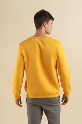 Oksit Coll City Yesterday Slim Fit Pamuklu Sweatshirt 4