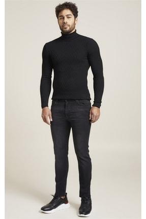 Efor 071 Slim Fit Siyah Jean Pantolon 0