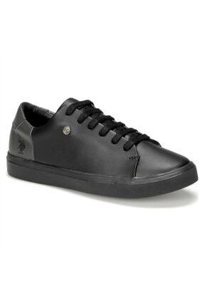 US Polo Assn NORDES 9PR Siyah Kadın Sneaker Ayakkabı 100431396 1
