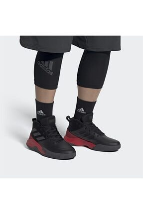 adidas OWNTHEGAME Siyah Erkek Basketbol Ayakkabısı 100663969 1