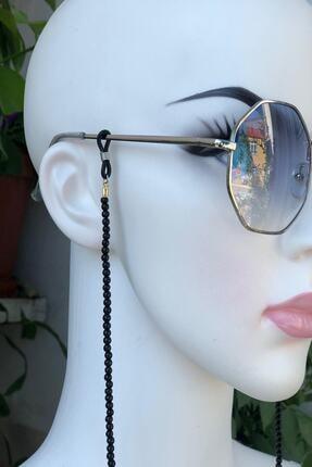 İsabella Accessories Kadın Güneş Gözlük Zinciri Boncuk Gözlük Ve Maske Askısı 0