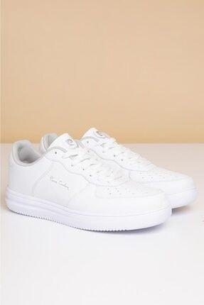 Pierre Cardin Erkek Günlük Spor Ayakkabı-Beyaz PCS-10155 2