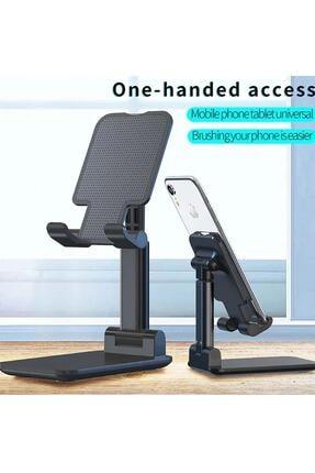 Wonderlust Profesyonel Tablet Ve Telefon Tutucu Stand 2 Kademeli Uzunluk Siyah 1
