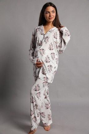 Lohusa Sepeti Emma Büyük Beden Lohusa Pijama Takımı 4