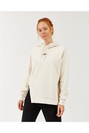 2X I-Lock W Print Detailed Hoodie Kadın Birch Sweatshirt resmi