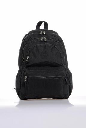Smart Bags Smb1050-0001 Siyah Kadın Sırt Çantası 0