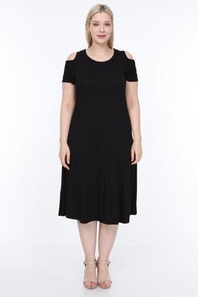 SENTEX Omuz Açık Elbise 0