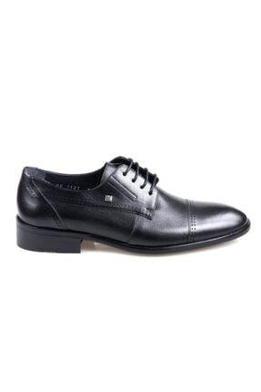 تصویر از 1121 Erkek Klasik Siyah Deri Ayakkabı
