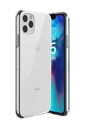 Dijimedia Apple Iphone 11 Pro Kılıf Ultra Ince Esnek Süper Silikon - Şeffaf 0