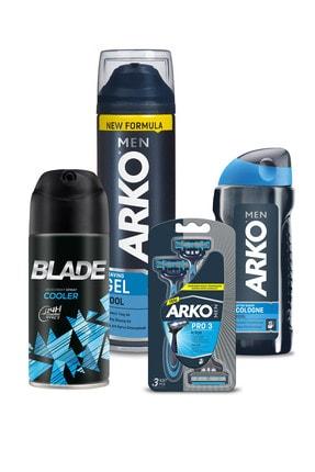 Blade Arko Men Tıraş Seti Ve Deodorant 150ml 0