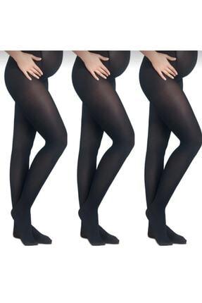 Penti Hamile Külotlu Çorap 40 Denye 3'lü Paket 0