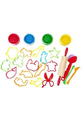 ChildGen Play Dough Doğal Oyun Hamuru Başlangıç Set 0