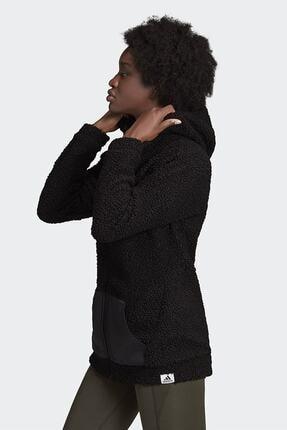 adidas Kadın Siyah Günlük Kapüşonlu Eşofman Üstü W Bb Hd Tt Gd3825 1