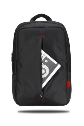 Classone Pr-r160 Roma Serisi 15,6 Inç Uyumlu Laptop, Notebook Sırt Çantası – Siyah 4